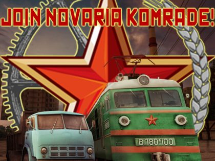 Welcome To Novaria Komrade!
