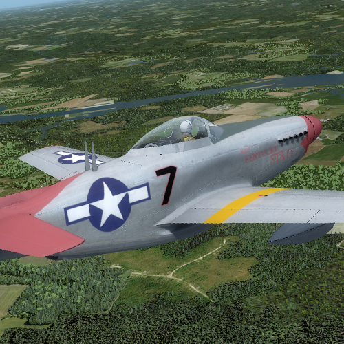 N24 Aircraft Factory P-51H Tuskegee 00