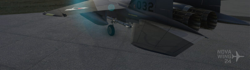DC Designs F-15C in the markings of Cipher from Ace Combat