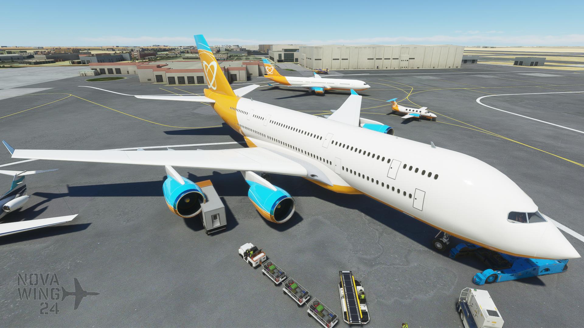 Orbit Airlines Generic AI Group Photo