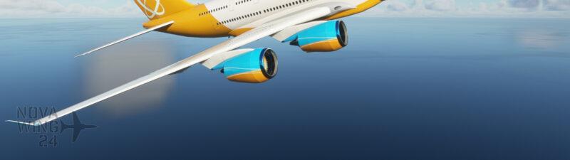 Orbit Airlines AI Generic Quad Jet Airliner