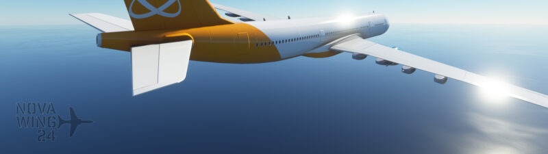 Orbit Airlines AI Generic Twin Jet Airliner