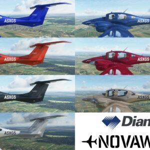 Diamond DA62 Desire Factory Colour schemes Promotion shot